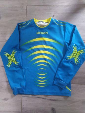 Bluzka sportowa że wzmocnieniami na łokciach dla chłopca 146