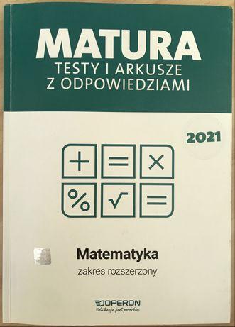 Testy i arkusze z odpowiedziami Matura matematyka Operon 2021