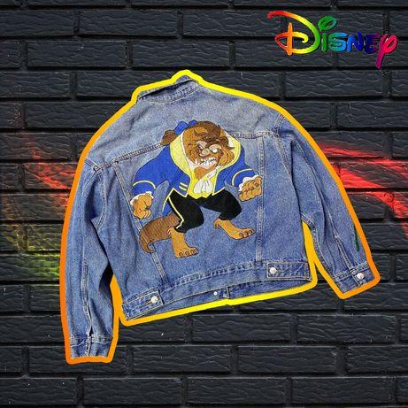 Джинсовая куртка Disney Pull & Bear с вышивкой