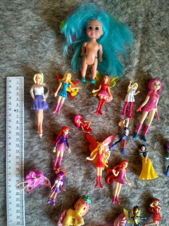 Куклы одним лотом 25шт