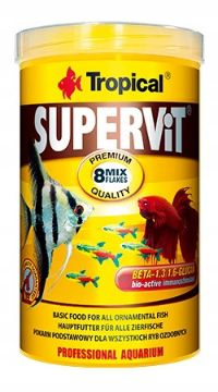 SUPERVIT karma dla rybek ryb z beta-glukanem HIT 1000ml 200gr Lublin