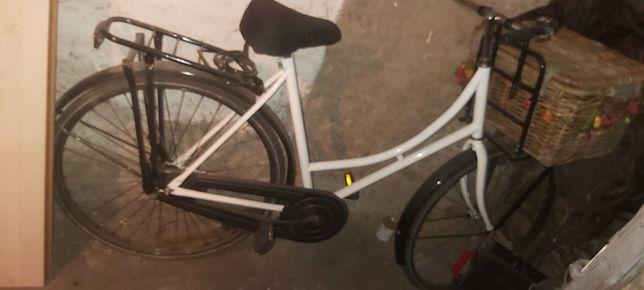 Rower damka retro miejski z Holandii