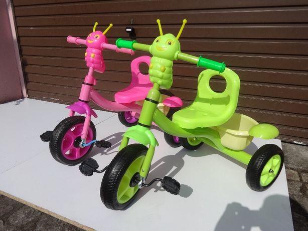 nowy rowerek trójkołowy