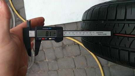 Шина летняя 1шт FIRESTONE Firehawk700 205/65 R15 8.1mm колесо б у гума