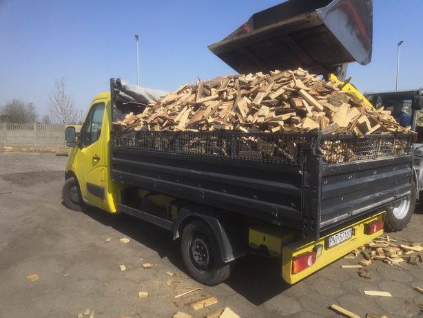 Drewno dębowe pocięte klapki