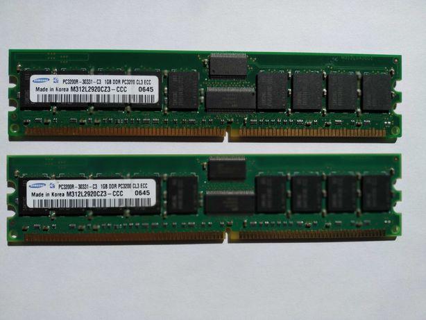 Память серверная M312L2920CZ3-CCC Samsung 1GB DDR Registered ECC