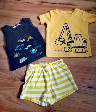 Летний набор шорты, майка футболка 98 2t