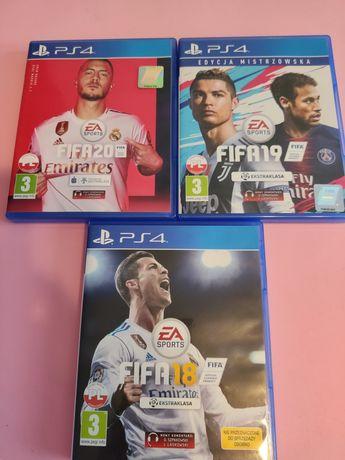 Ps4 FIFA 2020, FIFA 2019, FIFA 2018