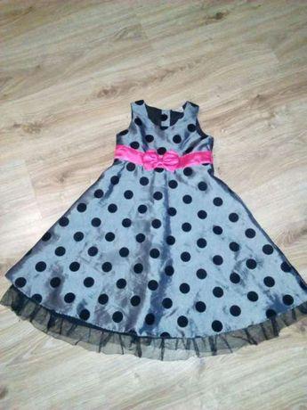 Sukienka 3-4 elegancka