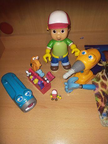Zestaw zabawek interaktywnych + 2 auta