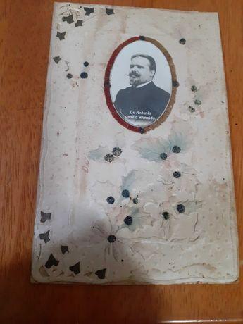 postal de 1906 enviado por Carlos azereso general do exercito