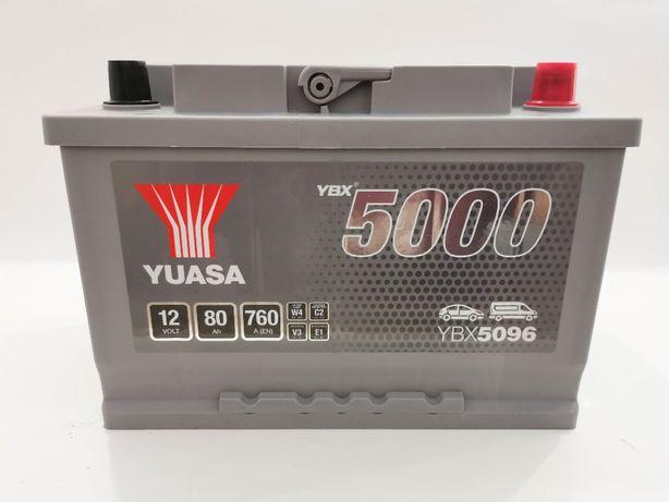 Akumulator YUASA YBX5096 80Ah 760A Promocja!!!