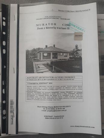 Projekt domu ,, dom z historią c258b,,