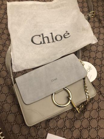 Torebka Chloe szara