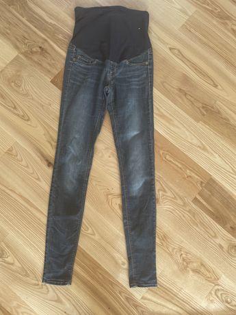 Jeansy spodnie ciążowe H&M 34 xs