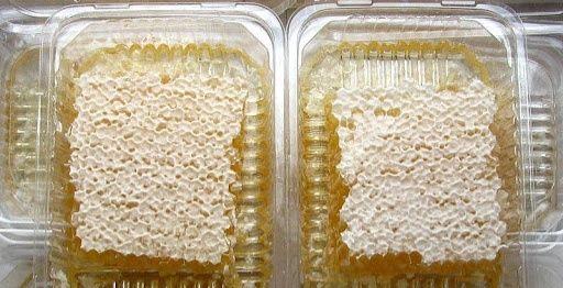 Сотовый мед с зарегистрированной пасеки