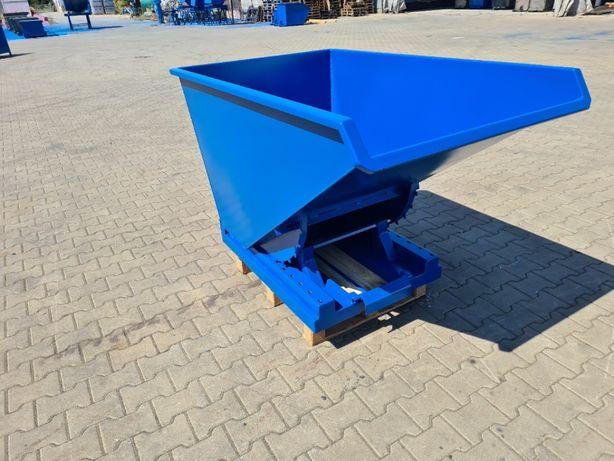 Pojemnik / koleba samowyładowcza KX 600 poj. 0,6 m3 GRATIS DOSTAWA 24