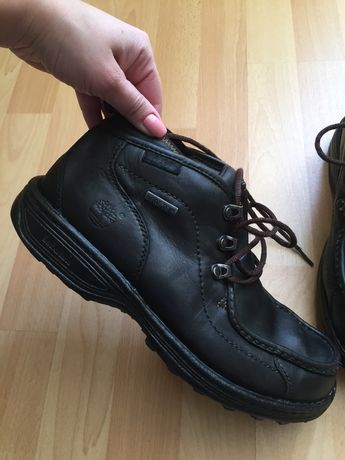 Кожаные сапоги ботинки Timberland Ecco Geox