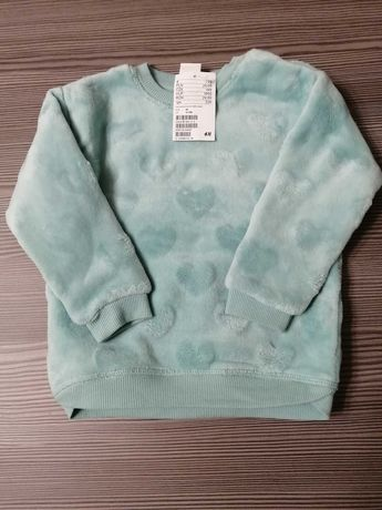 Bluza dziewczęca H&M nowa roz 86