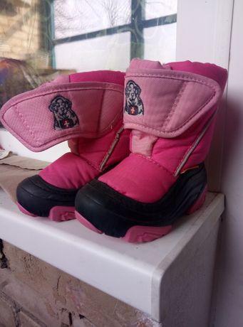 Зимние ботинки Деммары