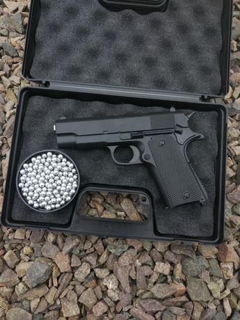 Пистолет страйкбольный  colt 1911 (пневм.)