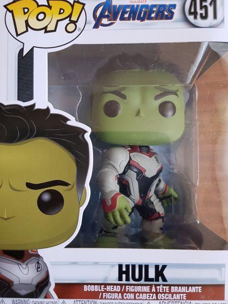 Figurka AVENGERS Marvel POP Hulk - nowa