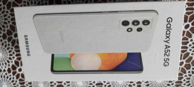 SAMSUNG A52 5G biały