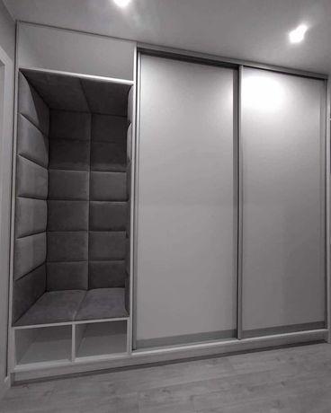Panele tapicerowane ścianki garderoby wnęki sypialnie na wymiar 30/60
