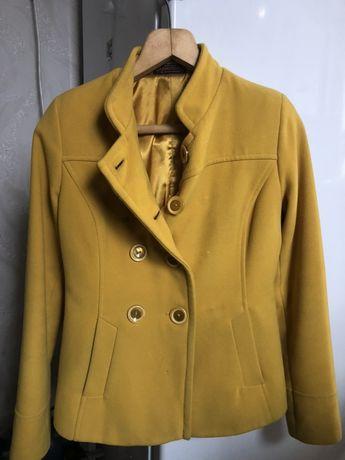 Пальто кашемировое. Пальто серое.