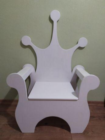 Декор кріселко трон для принцеси