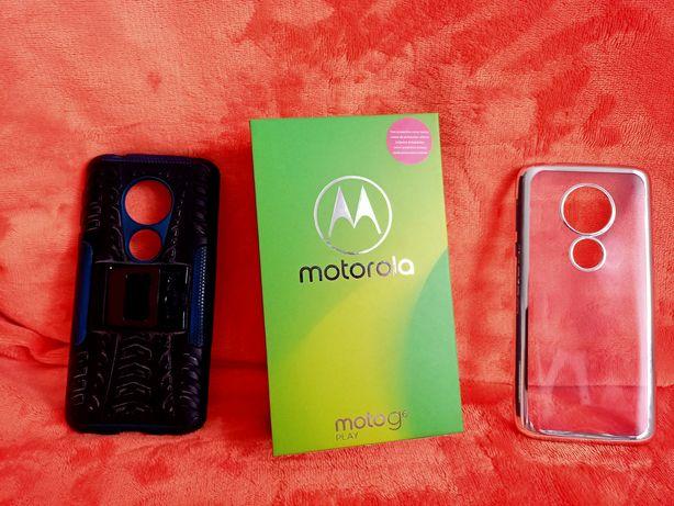 Motorola G6 Play + etui + zestaw słuchawkowy