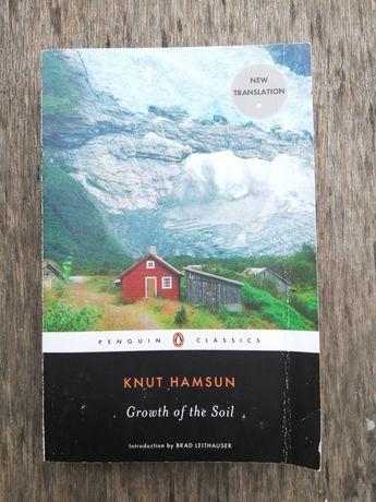 Knut Hamsun Growth of the soil   Кнут Гамсун   Книга на английском