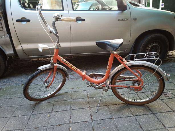Bicicleta Dobrável Chopper Vaterland 70's Roda 20