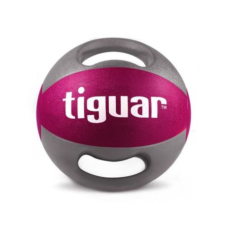Piłka lekarska z uchwytami Tiguar 5kg