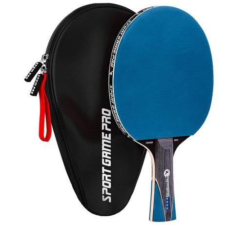 Ракетка для настольного тенниса SPORT GAME PRo + чехол теніс синя