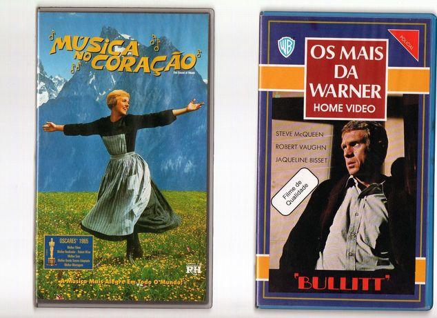 Colecção filmes vintage VHS Classicos ORIGINAIS