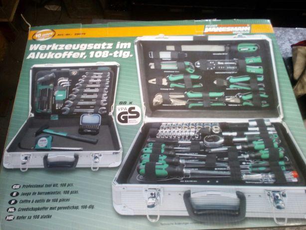 bruder mannesmann 108 walizka narzędziowa, zestaw kluczy
