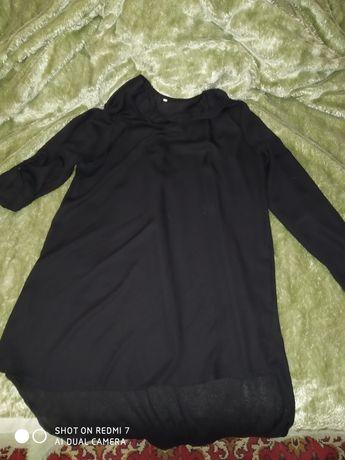 Платье женское шелковое