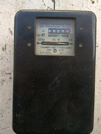 Електро лічильник 3 -ох фазний