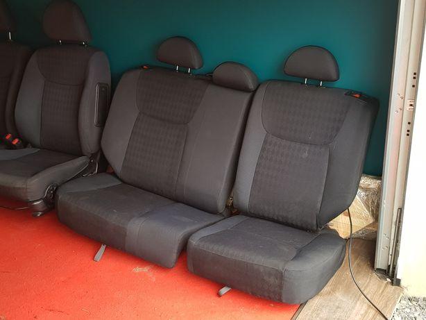 Honda CIVIC VII 7gen Komplet Siedzenia Fotele Fotel tapicerka LUBIN