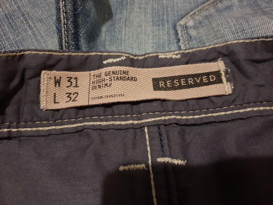 Spodnie Jeans, Reserved.W 31, L 32 Trzebielino - image 1