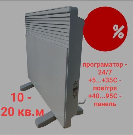 Умный эко- конвектор с программатором, 10-20кв.м, Eco-obogrev EK 1000P
