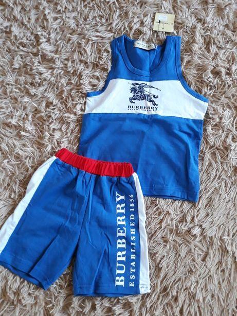 Летний костюм Burberry 2-3 года