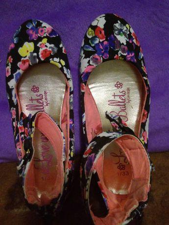 Красивые туфельки-балетки George