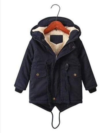 Детская Куртка парка на мальчика осень весна