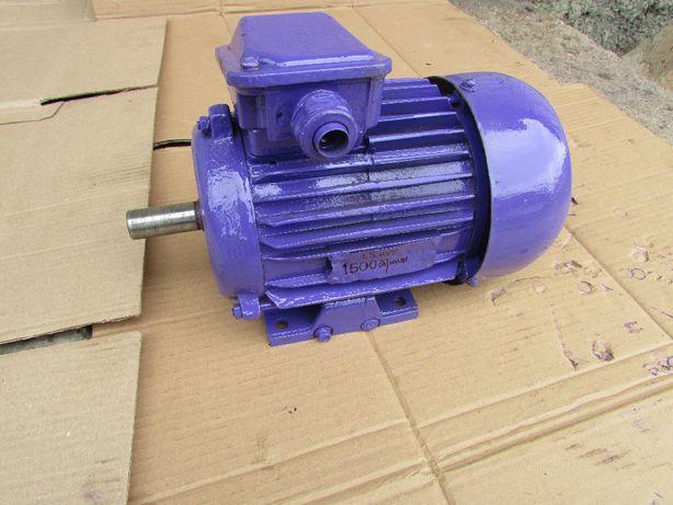 Двигатель 1,5 квт. 1500 об/мин