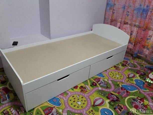 Кровать Односпальная 90*200 Компанит. Есть с Ящиками