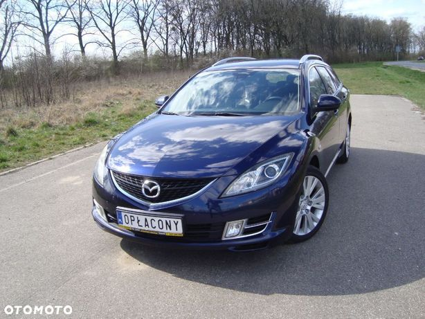 Mazda 6 2.0D Skóra,Webasto,Klimatronik,Alu17,Gwarancja.