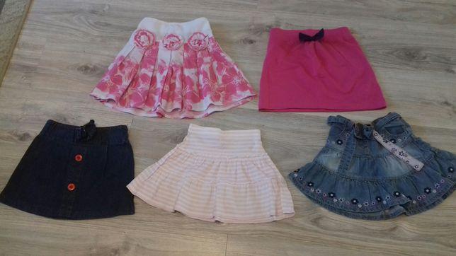 Spódniczki dla dziewczynki, 86-92, 110,128