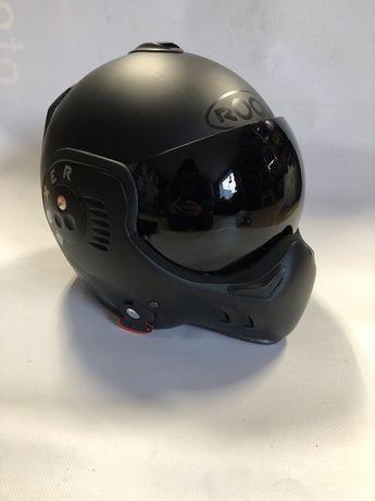 Nowy kask motocyklowy zestaw ROOF Boxer